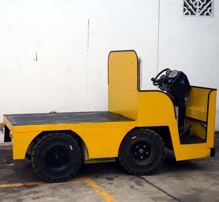 電動平板車四輪拉貨車泰州惠澤機械生產