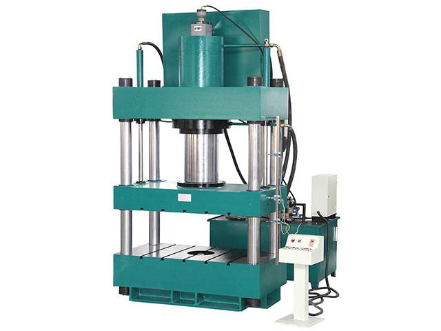 电动车顶棚花纹油压机500T三梁四柱液压机