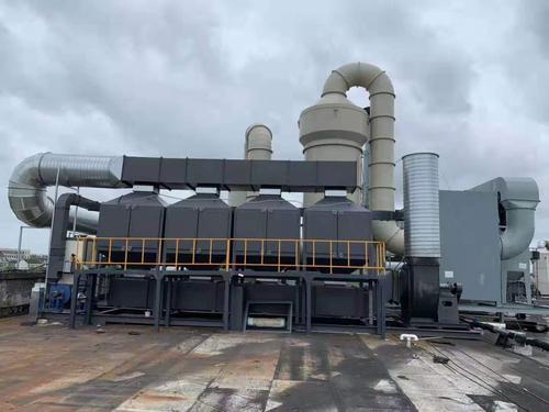 活性炭+催化燃燒設備