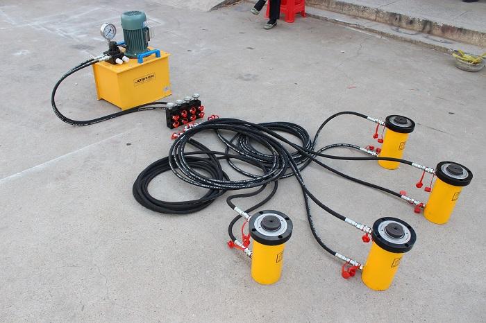 同步液压千斤顶加工-PLC同步控制电动液压千斤顶供应商
