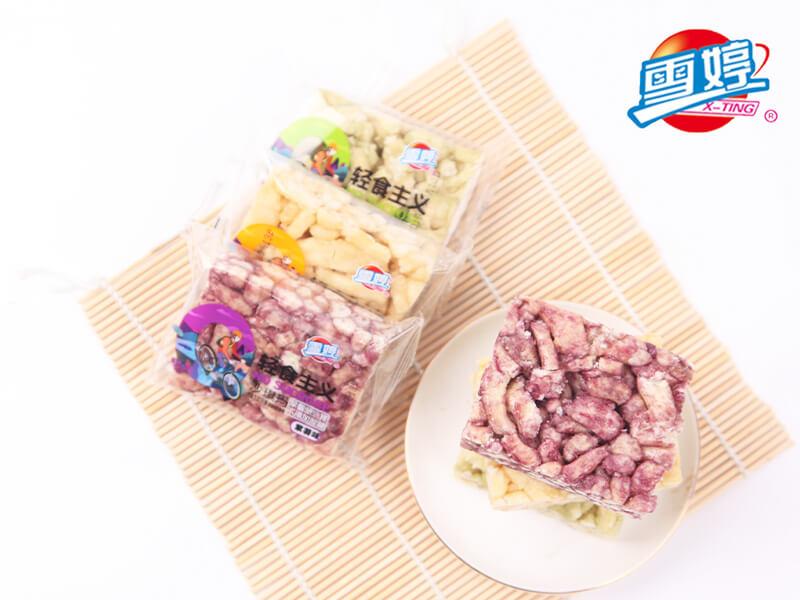 山东省木糖醇苦荞麦饼零售 优良轻食沙琪玛供应商推荐