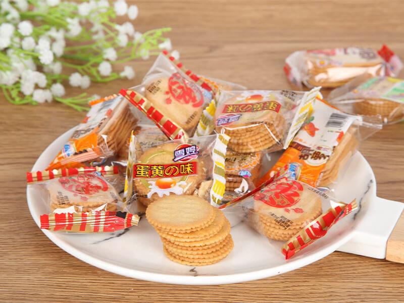 沂水雪婷酥性饼干直销-信誉好的薄脆饼干供应商-雪婷食品
