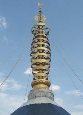 14.98米—宝塔塔刹寺院铜塔刹铸造厂