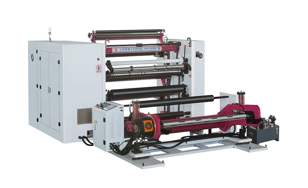 1300型PLC控制卧式高速分切机