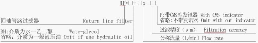 溫州口碑好的過濾器-溫州物超所值的RLF系列回油管路過濾器批售