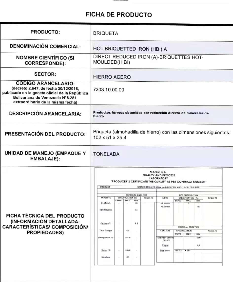 澳门委内瑞拉热压铁HBI供应商_供应热压铁HBI提供商