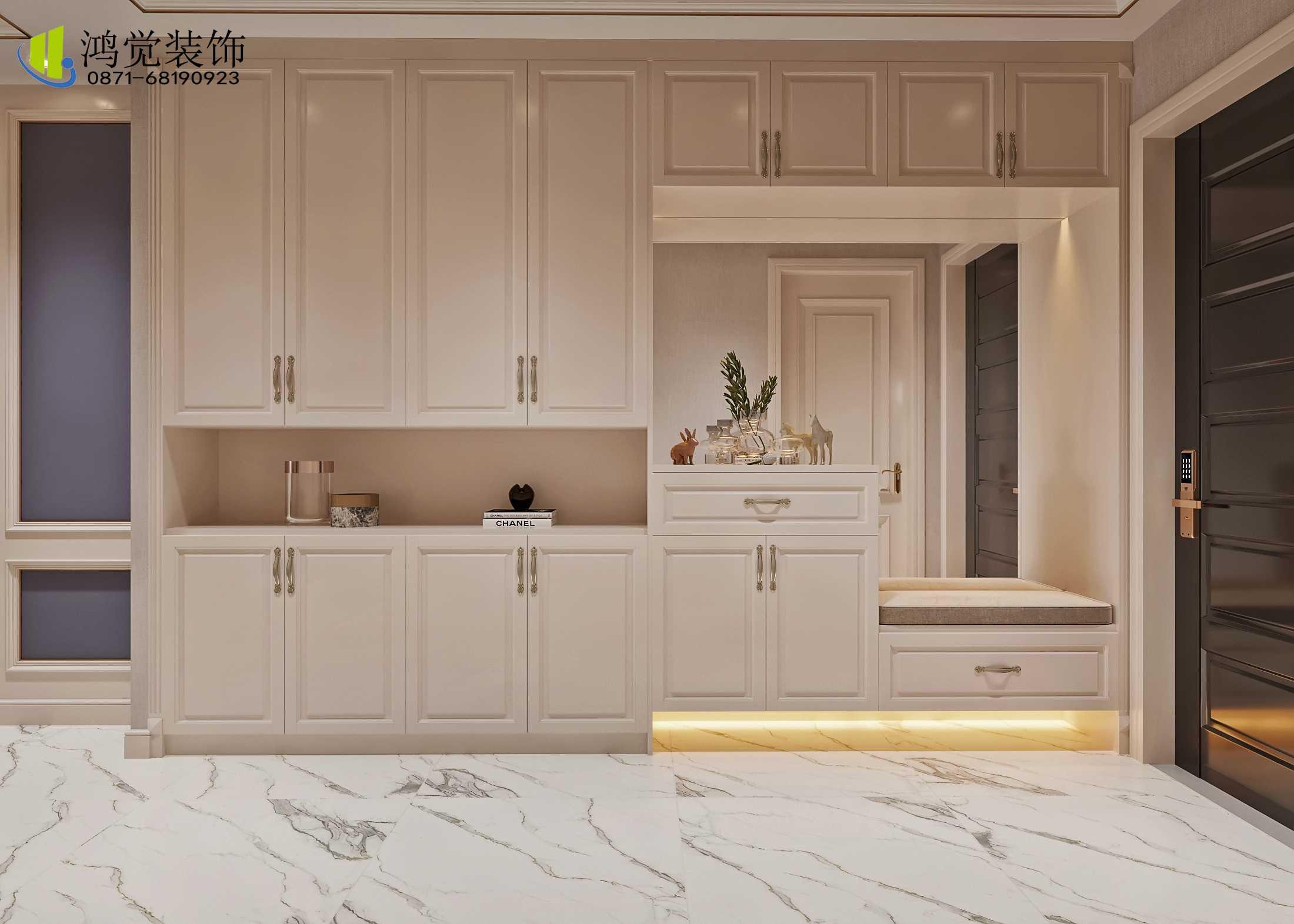 新中式风格装修-鸿觉家庭装修服务-不一样的家装