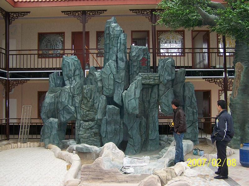 甘肃假山|兰州哪里有可靠的设计-甘肃假山