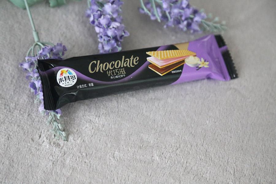 巧克力威化饼干