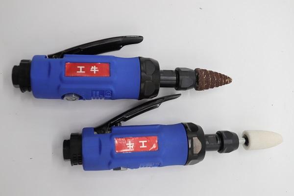 坦克砂带机厂家-气动打磨机供应商 GONEW工牛气动打磨机