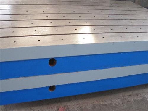 圆形铸铁平板-河北铸铁平台价格