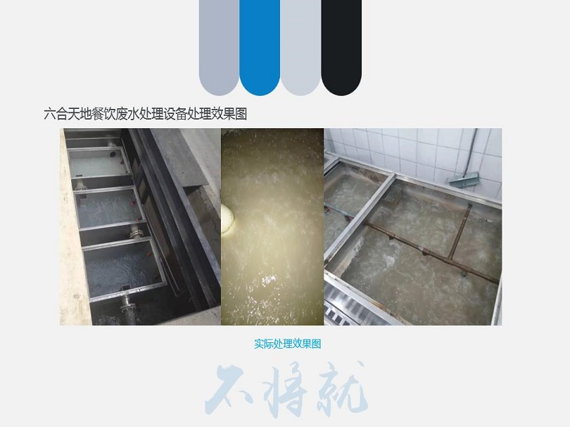 食堂污水处理设备-优惠的全自动餐饮废水一体化处理设备武汉六合天地环保设备供应