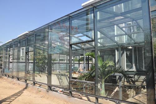 鋁合金陽光房-選擇信譽好的西安鋼結構陽光房加盟代理,就來義德心建材