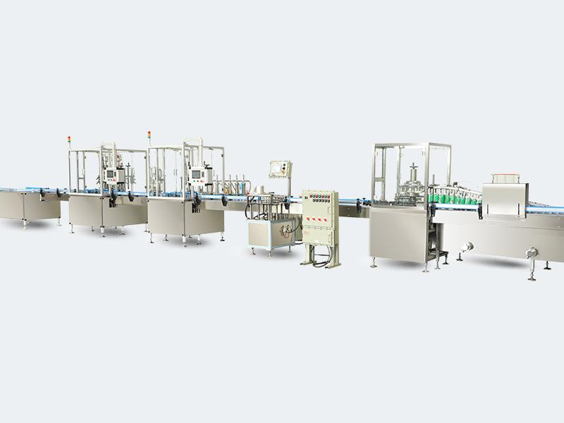 消毒剂喷雾剂-二元消毒喷雾-酒精消毒气雾剂生产设备