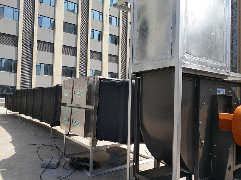 厂家供应油烟净化器|武汉六合天地环保设备高性价商业综合体油烟净化器出售