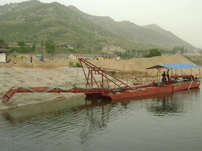 挖沙水洗鏈斗設備多少錢一套_選購專業的抽沙船就選皓啟環保設備