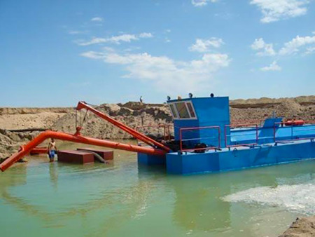 二手抽沙船供貨商-浩磊環保高性價挖沙船出售