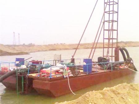 河道清淤设备——挖沙船价格——挖沙船哪里有——浩磊