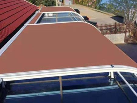 铝合金外遮阳多少钱一平方-临朐阳光房遮阳生产厂家