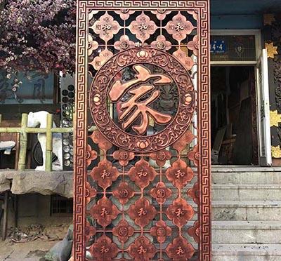 黑龍江價格合理的黑龍江木雕牌匾-上檔次的哈爾濱園林景觀供應