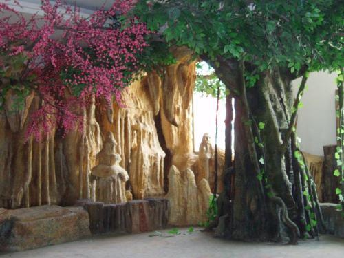 哈尔滨万超园林供销哈尔滨假山假树供应-双鸭山浮雕