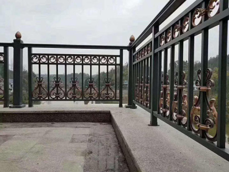 防护栏铝合金/铝合金别墅围栏