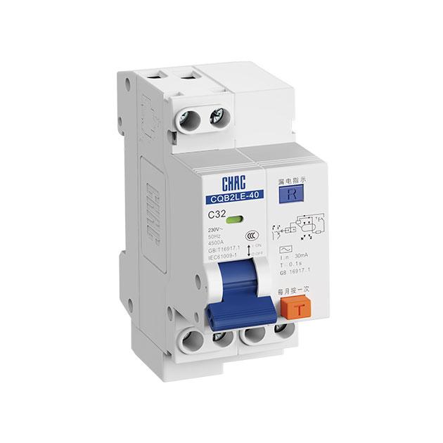 小型断路器型号-买CQB2LE-40 漏电保护断路器,就选浙江创奇电气