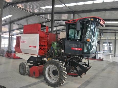 【纽芬特】小麦玉米联合收割机 玉米联合收割机 农机