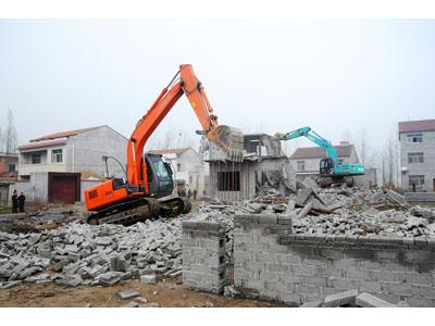 蘭州拆除工程-建筑拆除