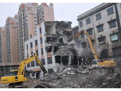 甘肅廠房拆遷-口碑好的樓房拆除推薦