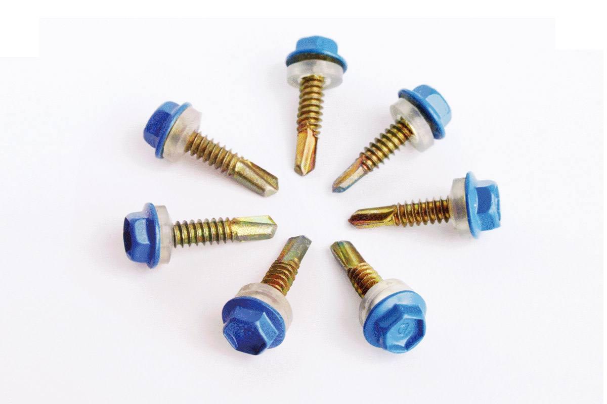 镀锌钻尾螺钉批发-优惠的法兰螺母晟茂紧固件供应