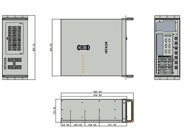 IPC 日达智能供应有品质的日立工业电脑H-1910L3 IPC