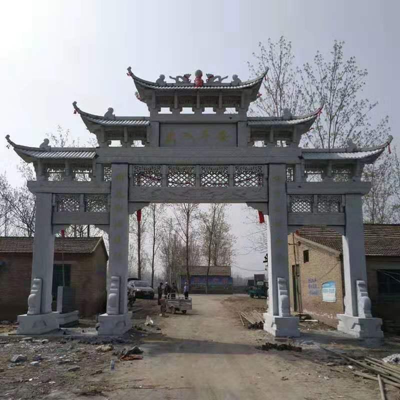襄阳石牌坊|飞樊工艺品_优良村庄石牌坊供应商