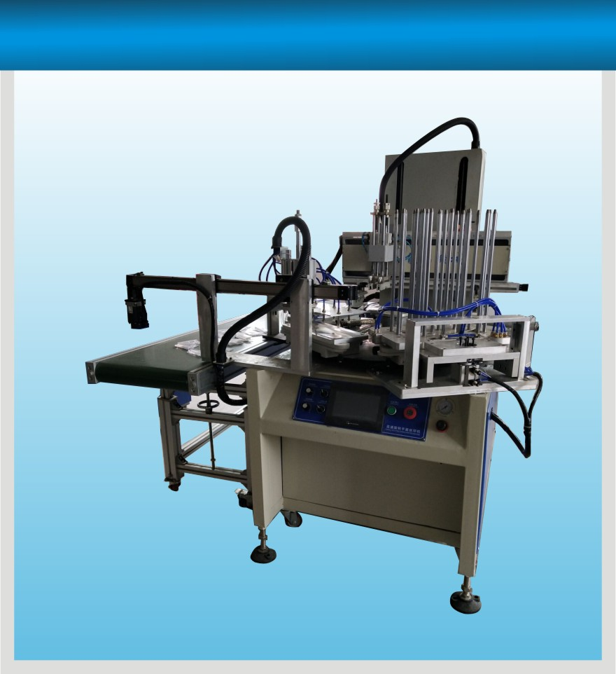 出售丝印机-福龙昌机械具有口碑的全自动上下料套尺丝印机