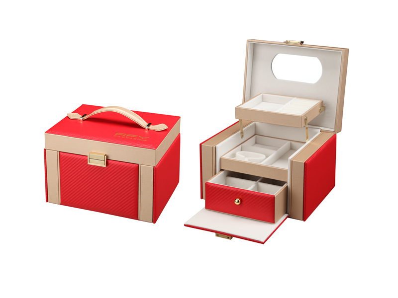 钢琴漆耳钉盒-实惠的首饰盒出售