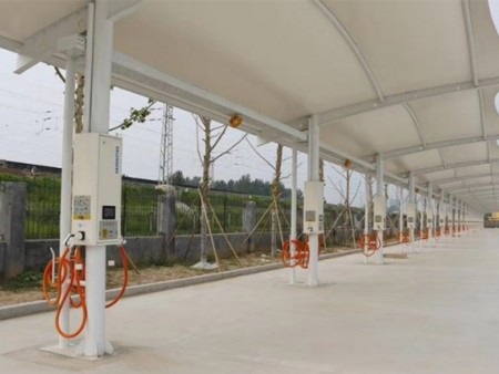 膜結構充電樁工程-河南膜結構充電樁-安徽膜結構充電樁