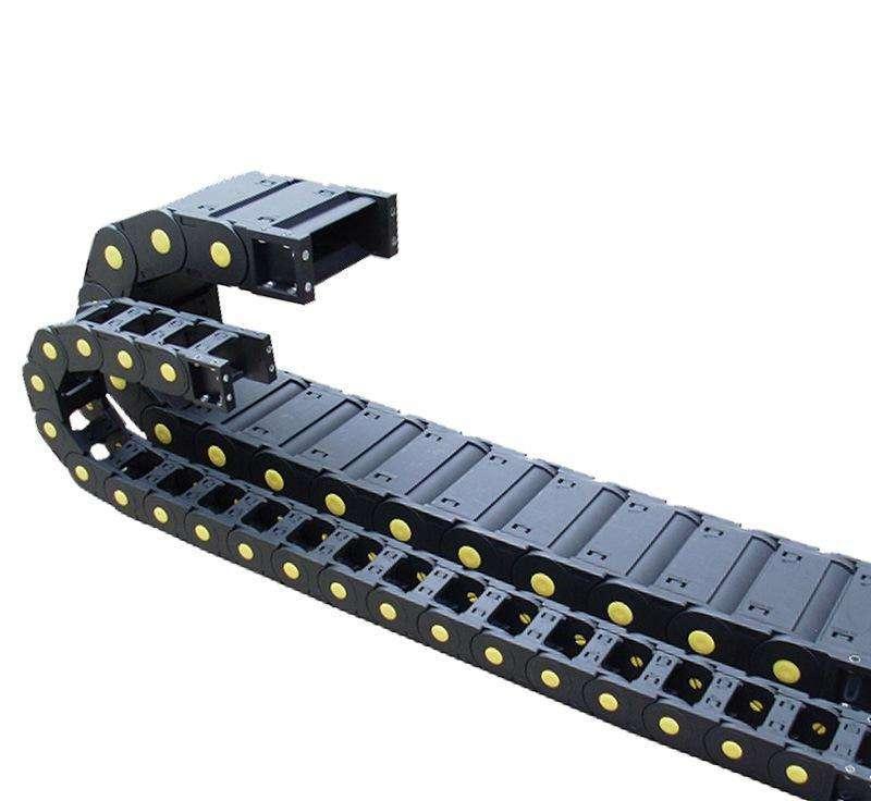 塑料拖链,塑料拖链厂家,机床塑料拖链,坦克链
