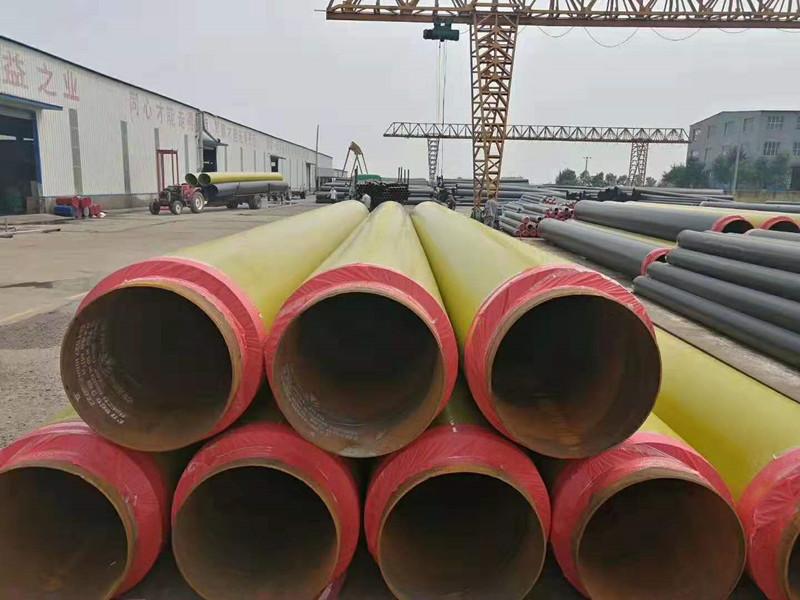 焊接保溫鋼管廠家-滄州友誠管業專業供應鋼套鋼直埋保溫鋼管
