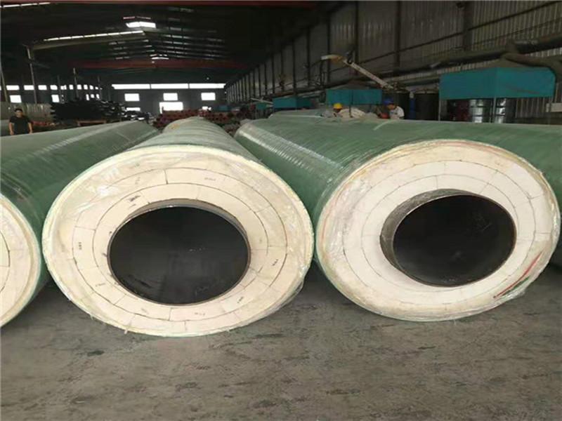 大口径保温钢管|现在质量硬的钢套钢直埋保温钢管价格行情