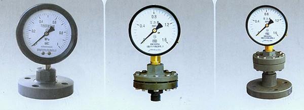 衛生型隔膜壓力表易于清洗、不易污染|YM系列衛生型隔膜壓力表