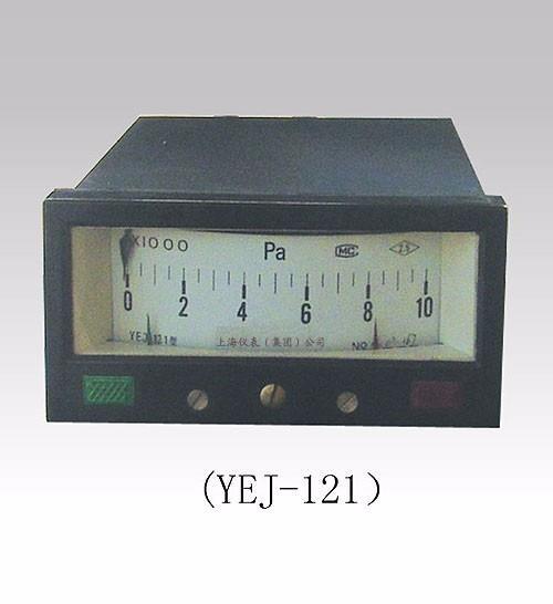 上海膜盒壓力表市場行情|YEJ-121矩形接點膜盒壓力表