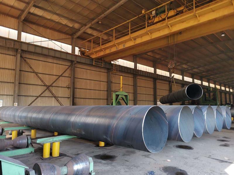 螺旋钢管720-声誉好的大口径螺旋钢管厂家-焊接工艺技术通用颜色供应商有哪家