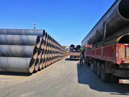 螺旋钢管219-沧州性价比高的大口径螺旋钢管厂家_焊接工艺技术通用颜色生产厂家