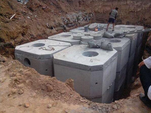 雙城三合水泥耐用的哈爾濱化糞池供應,牡丹江排水管