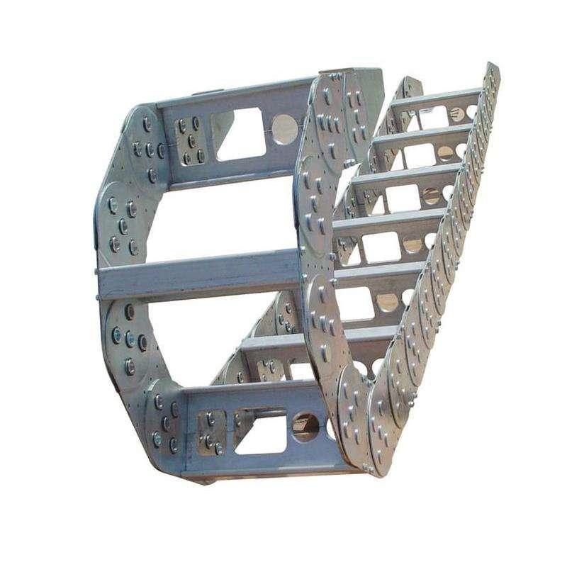 钢厂钢制拖链,全封闭钢制拖链,尼龙拖链,塑料拖链