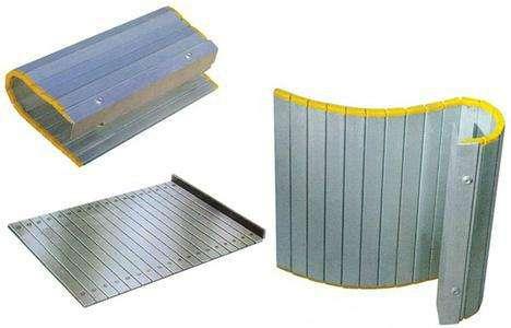 机床铝帘,机床铝帘防护罩,铝型材防护帘厂家