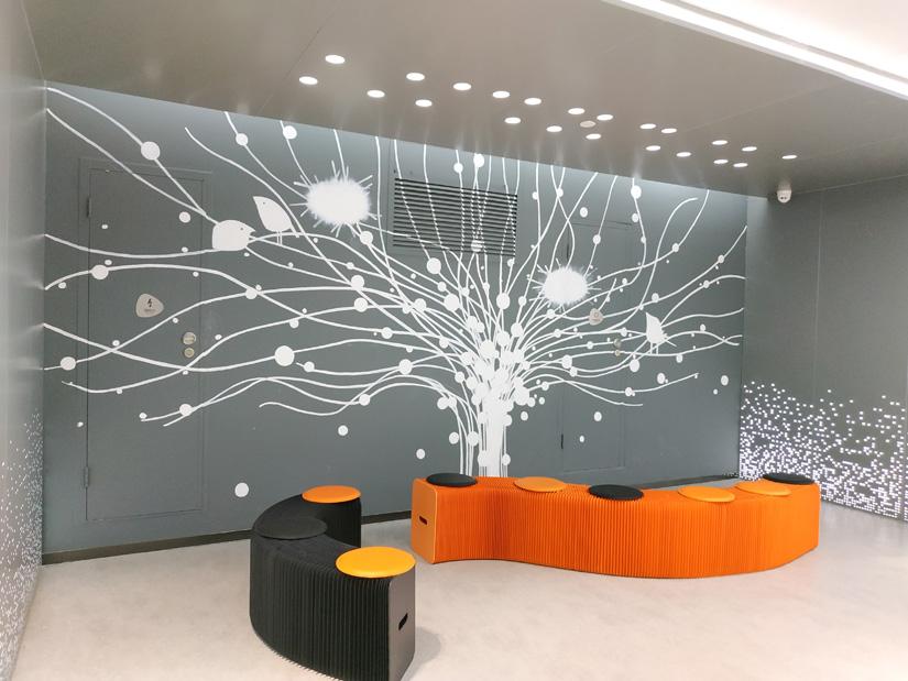 深圳装修公司前十强:盛大游戏办公室装修实景图