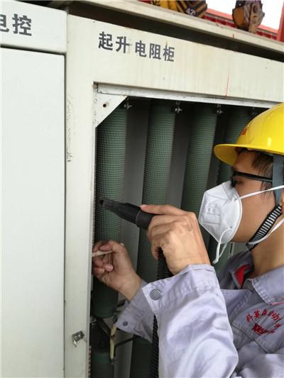龍門吊電氣部分預防性維護保養