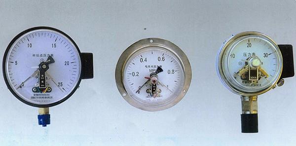 上仪电接点压力表品种规格齐全YXC系列CIZ磁助电接点压力表