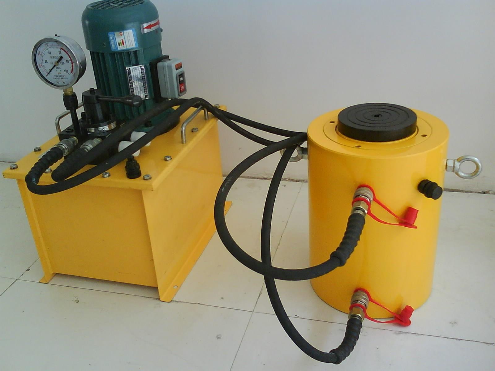 500吨桩基检测电动液压千斤顶
